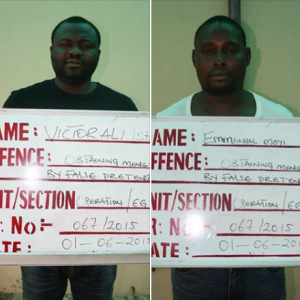 Kano court sentences two convicted fraudsters to 110 years(Photo)