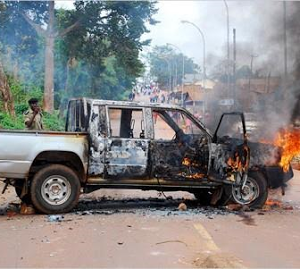 Police arrest Ugandan king over deadly clash which killed at least 55 (Photos)