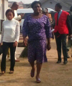 Photos: EFCC arraigns woman over fraud