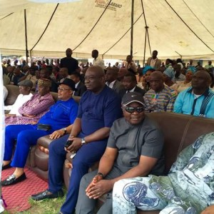 Rivers Rerun: Amaechi Leads APC Rally For Senator Abe In Rivers State (Photos)