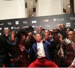 Top Nollywood Stars Dazzle At '76' Movie Nigerian Premiere