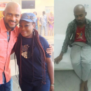 Actor Leo Mezie Pictured Looking Very Healthy After Successful Kidney Surgery
