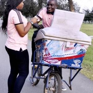 Man Turns Ice Cream Seller In Lovely Pre-Wedding Photoshoot