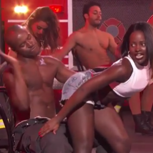 Lupita Nyong'o Gives Racy Lap Dance To a Dancer On Lip Sync Battle