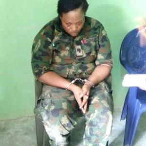 PHOTOS: Fake Army Officer Caught With 3 Kids All Tied With Bombs