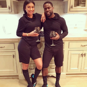 Kevin Hart and wife Eniko are serving marriage goals in matching outfits