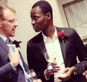 Photos from Bisi Alimi's gay wedding
