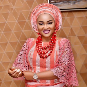 Mercy Aigbe Dazzles In Traditional Attire (Photos)