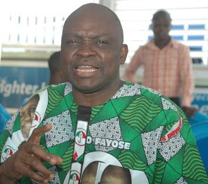 Fayose: Democracy on trial in Ondo State, INEC has merged with APC