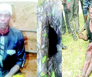 Son butchers father ,throws corpse into pit toilet for falsely accusing him of stealing