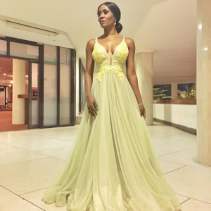 Checkout Toni Tones Stunning Look To AFRIFF Closing Ceremony