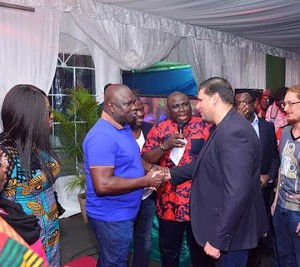 Photos: Governor Ambode Hosts Delegation Of AFRIMA  At The Lagos House