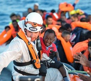 Photos: Thousands Of Stranded African Migrants Rescued Off Libyan Coast