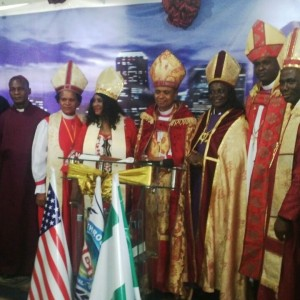 The Newly Ordain Bishop Of  Ark Of Glory Christian Assembly Set For His First Family Holiday In The US.