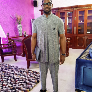 Photos: Coza Pastor, Biodun Fatoyinbo Looking Gorgeous For Service