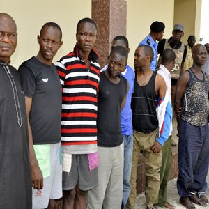 Police Parade 14 Officers, 45 Others For Kidnapping
