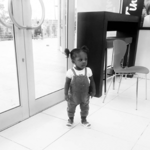 Photo: Timaya's First Daughter Is All Grown Up