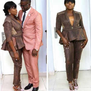 Funke Akindele Shares Lovely Photo With Her Man, JJC