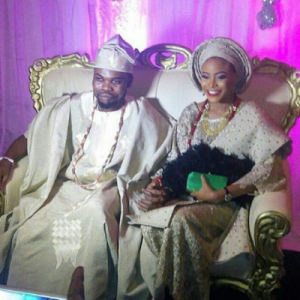 Photos From Comedian, Omo Baba's Wedding