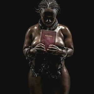 Lady Causes Controversy Online By Posing Naked With Bible