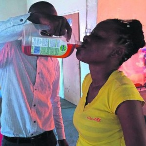 Photo: Another SA Pastor Makes Church Members Drink Dettol Liquid Antiseptic