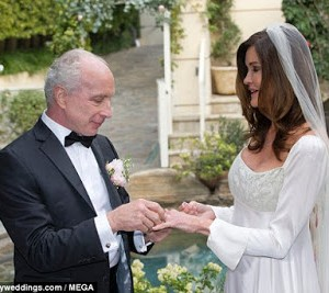 Photos from Janice Dickinson's wedding to Dr. Robert 'Rocky' Gerner