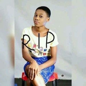 Photo: Teenage Girl Allegedly Killed By A Stray Bullet From Assassin In Rivers State