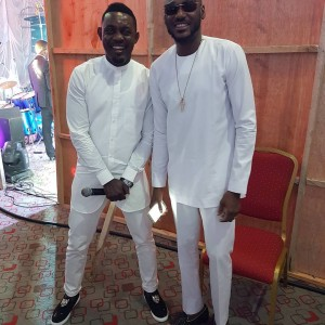 2face Idibia And Ay Makun Dazzle In White