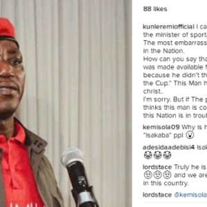 """Solomon Dalung Is The Most Embarrassing Human Being In The Nation"""" – Actor Kunle Remi"""
