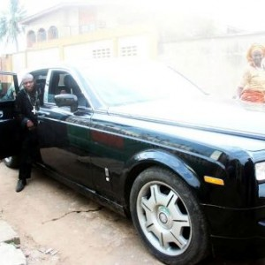 Photos: Popular Lagos Pastor Spotted In His Rolls Royce Phantom
