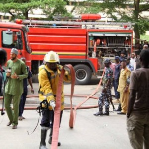 Panic As Fire Guts Lagos State Chief Justice Office