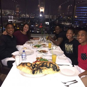 Photos: Daniel Amokachi Spends Quality Time With His Family