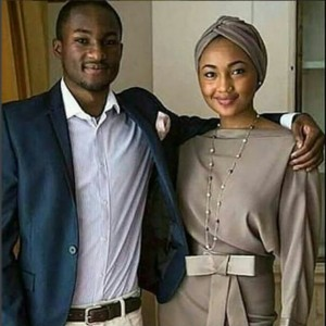 Yusuf Buhari Poses With His Sister Zahra Ahead Of Her Wedding To Ahmed Indimi