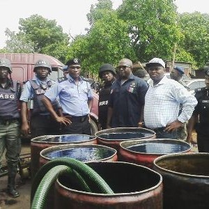 Photos: Over 20 Suspects Arrested As Police Uncovers Illegal diesel Factory in Lagos