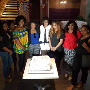 Photos From Uche Jombo's Birthday Party