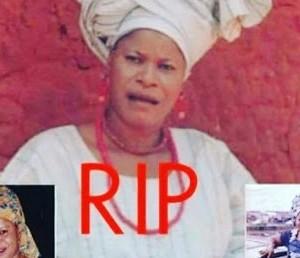 Veteran Yoruba Actress, Mulikat Adegbola Is Dead