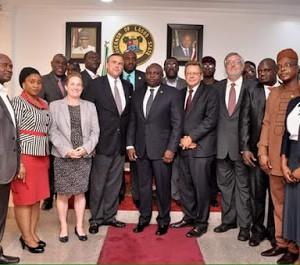 Photos: Gov Ambode Receives New US Ambassador, At Lagos State House