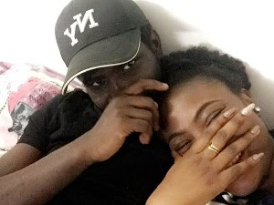 Nigerian couple who met on Twitter celebrate 1 year dating anniversary (photos)