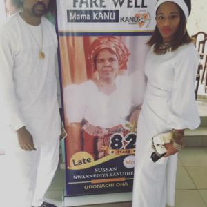 Beautiful New Photos Of Kanu Nwankwo And Wife, Amara