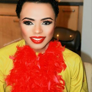 Bobrisky Shares New Makeup Photos