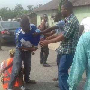Photos of ballot box materials recovered from thieves in Rivers state