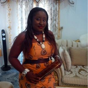 Ini Edo shows off her elder sister
