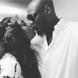 PHOTOS: 2Baba And Annie Idibia Kiss, Fans React