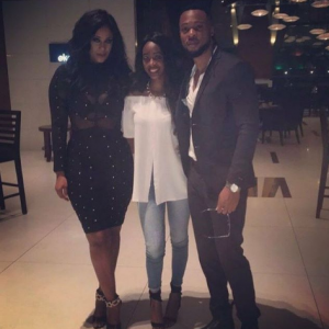 Photos: Flavour Attends The Birthday Dinner Of His First Babymama, Sandra Okagbue