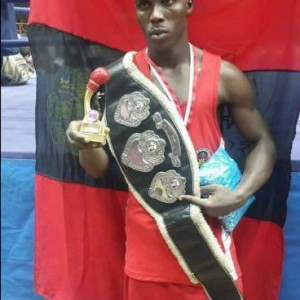 PHOTOS: Nigerian Soldier Wins Lagos Governor's International Boxing Tournament