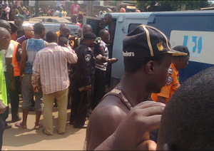 Billions Of Naira Burnt To Ashes As Bullion Van Crashes In Edo State