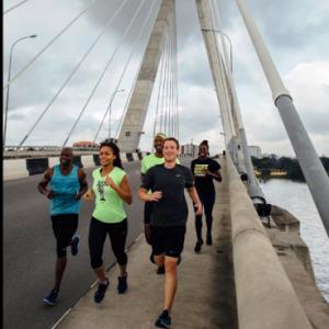 Billionaire, Mark Zuckerberg Recalls His Exercise On Lekki-Ikoyi Link Bridge