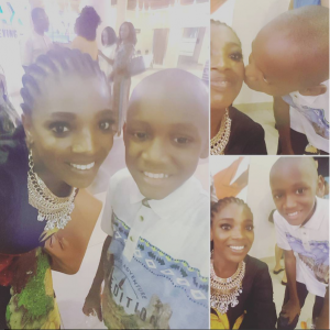 """""""Mama loves you so much"""" – Annie Idibia celebrates her step son, Nino as he turns 11"""