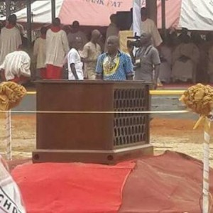 Photos: Crippled Man Receives His Miracle And Starts Walking During The Burial Of Rev Father Iwene Tansi In Anambra State