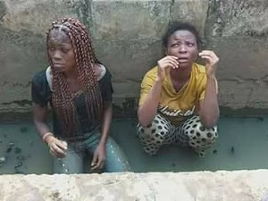 Two suspected female robbers caught with bundles of master keys (Photos)